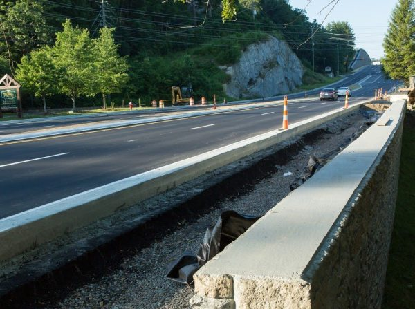US 321 Construction, 4 lanes now open