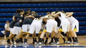 Appalachian State women's basketball earned its third consecutive WNIT bid on Monday evening. The Mountaineers will face Charlotte in the first round, scheduled for Thurs., March 21. Photo by Tyler Buckwell and courtesy of Appalachian Sports Information