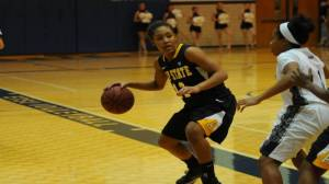 Michelle Taylor and the Mountaineers took down East Tennessee State on Tuesday night. Photo courtesy of Appalachian Sports Information