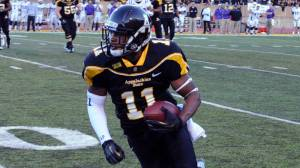 Andrew Peacock and the Mountaineers will play 12 regular-season games in 2013, including six at Kidd Brewer Stadium. Photo by Dave Mayo | ASU Sports