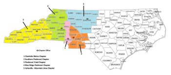 Red Cross coverage areas in western North Carolina