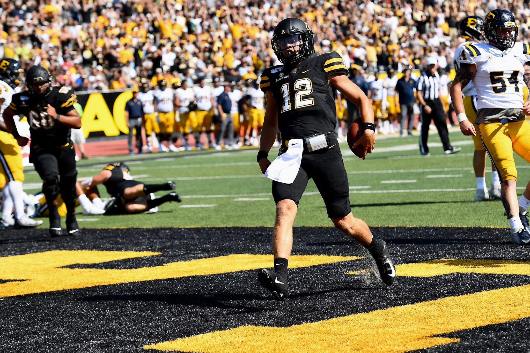 Image result for app state football