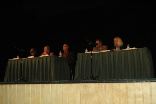 The candidates running for Blowing Rock Town Council. Photo by Jesse Wood