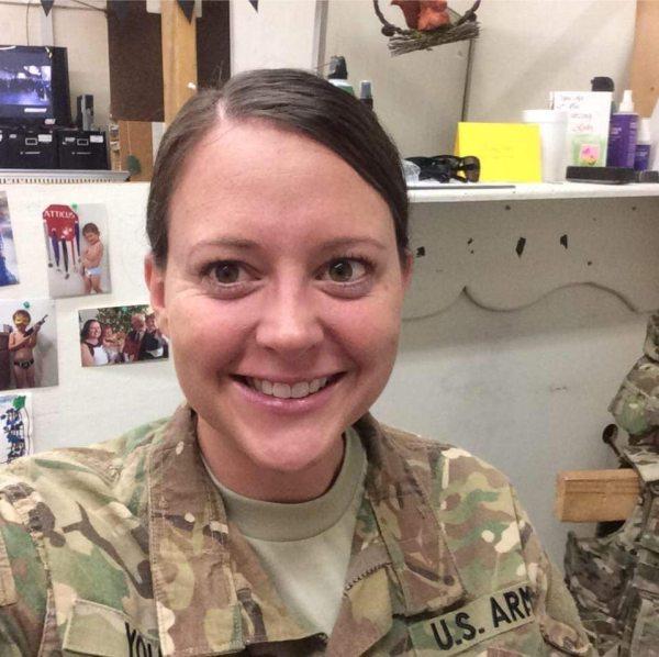 U.S. Army Capt. Jessica Young.