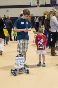 driving an rc robot at buildfest 2015