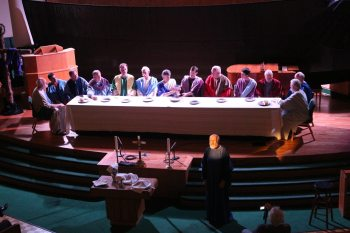 """The Last Supper"" at Boone United Methodist Church"