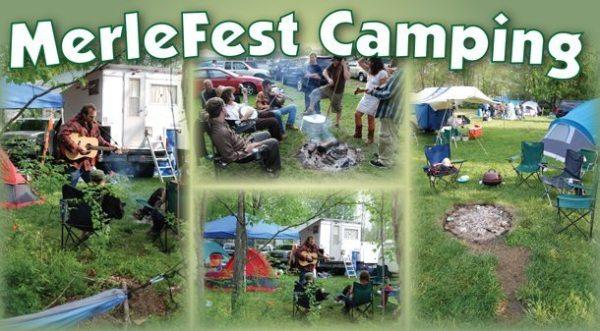 merlefest camping