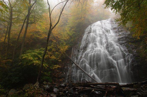 """Crabtree Falls NC"" by Mickey C. Moten"