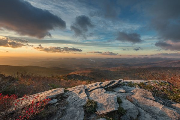 """Morning on the Ridge"" by Robert H. Clark"