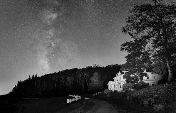 """Nightfall at the Manor"" by Sharon Canter"