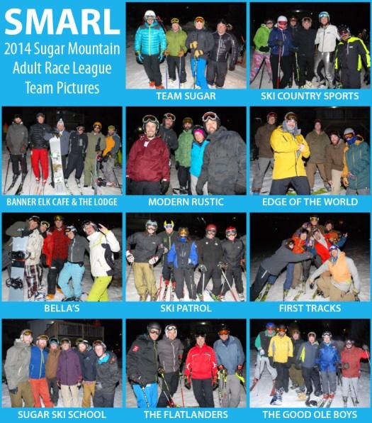 SMARL ski teams