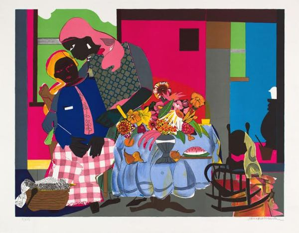 Romare Bearden (1911-1988), Morning (1979)