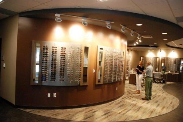 Inside the new Graystone Eye facility.