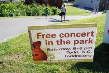 Todd Summer Music Series