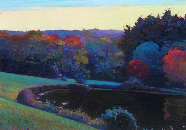Charles Basham, Little Glade Pond- Blue Ridge Parkway (2009)