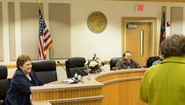 Watauga County Board of Election Supervisor Jane Ann Hodges retirement
