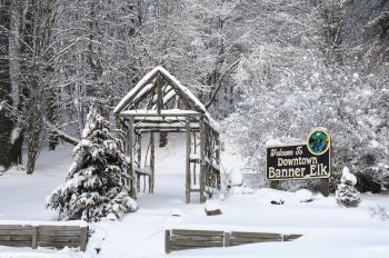 Winter in Banner Elk. Photo by Todd Bushl.
