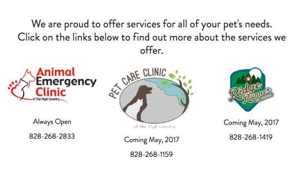 Animal Emergency & Pet Care Clinic of High Country Expands, New