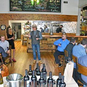 Vidalia Restaurant and Wine Bar Hosted Gundlach Bundschu Gunbun Winery for 2016 Vintage Reserve Release Event Luncheon