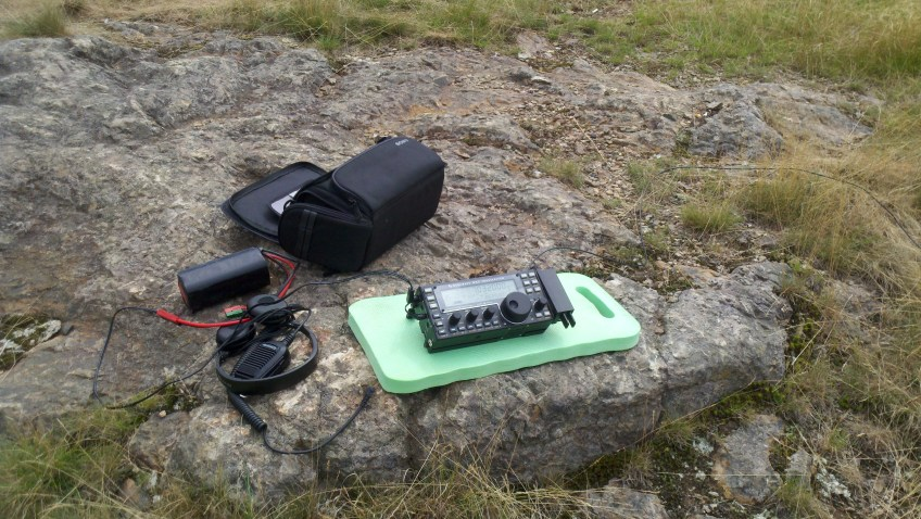 The KX3 ready for action!