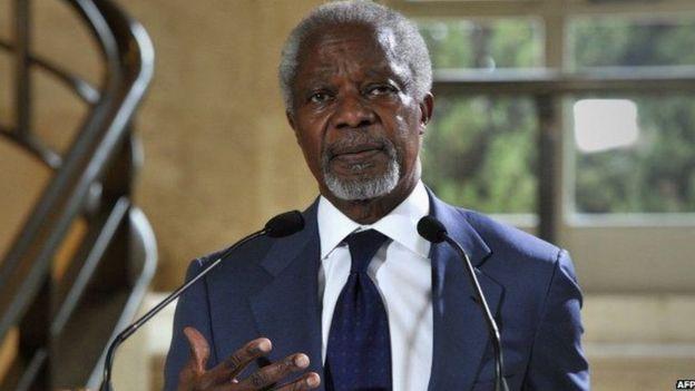 Kofi Annan Oo Geeriyooday