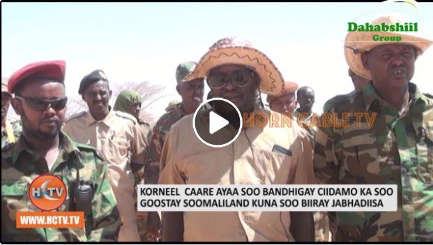 Ciidamo Kasoo Goostay Somaliland Oo Ku Biiray Ciidanka Korneel Caare.