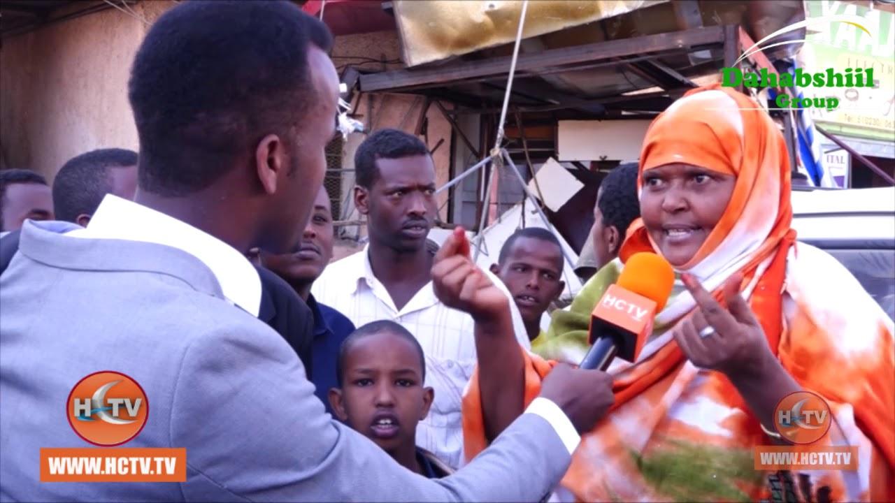 Hargeisa : Dareenka Hooyooyin Ganacsigoodi Laga Burburiyey