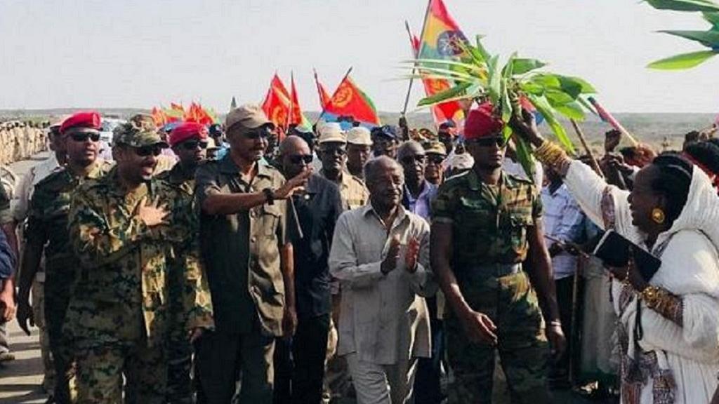Eritrea Oo Xidhay Xadka Ay La Wadaagto Ethiopia