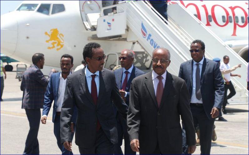 Wefti Eritrean Ah Oo U Socdaalay Somalia