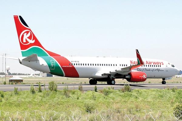 Garoomada Diyaaradaha Kenya Oo La Xidhay Kadib Shaki Ka Dhashay Duulimaadka Kenya Airways