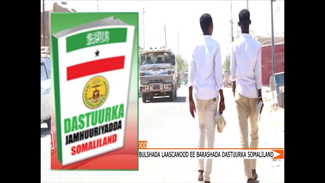 Qaar ka mid ah Shacabka Laascaanood oo ka Hadlay In Dastuurka Somaliland lagu barto Dugsiyada.