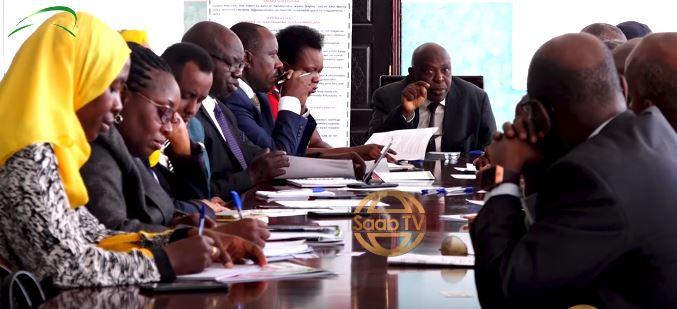 Wefti Ka Socda Guddiga Arrimaha dibedda Baaramaanka Uganda Oo Somaliland Yimid