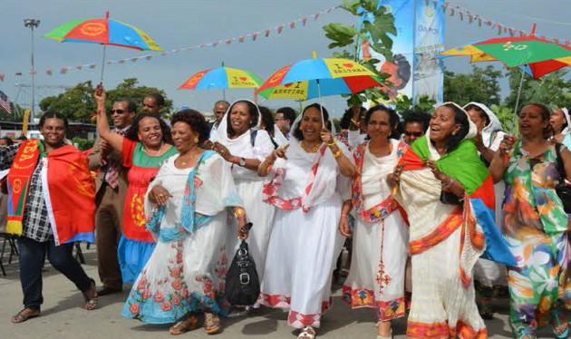 Dabaal-degyada Madaxbanaanida Eritrea Oo Ka Socda Dalalka Caalamka
