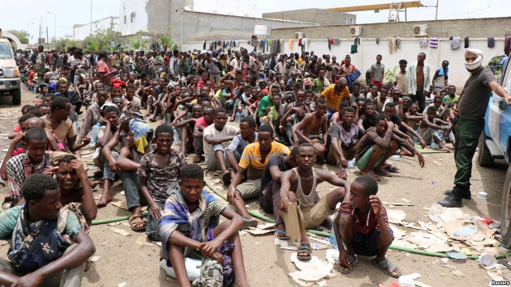 Yemen Oo Xidh-Xidhay Muhaajiriin Ka Badan 2,000 Qof