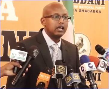 """""""Arinta Xukunka Dedega Ah; Somaliland Waxay Sumad Ugu Leedahay Dhaqankii Siyaad Barre"""" Xoghayaha Waddani"""