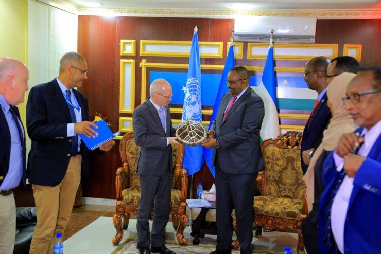 Qaramada Midoobay Oo Doonaysa Inay Wada-hadlaan Somaliland Iyo Puntland