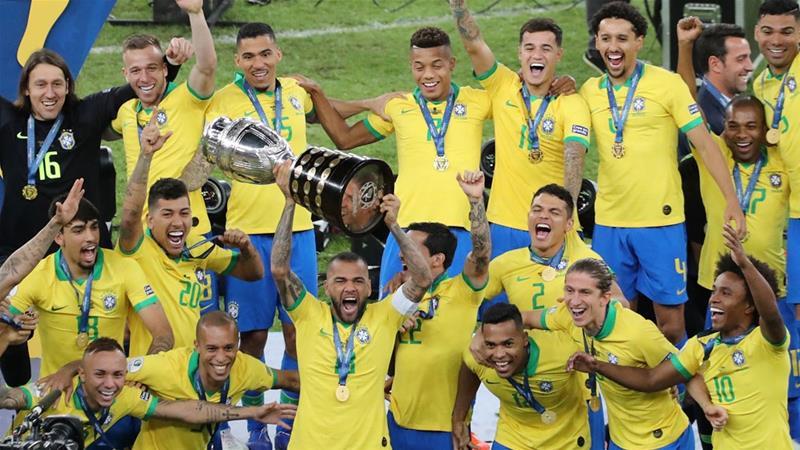 Brazil Oo Markii 9-aad Ku Guulaystay Copa America