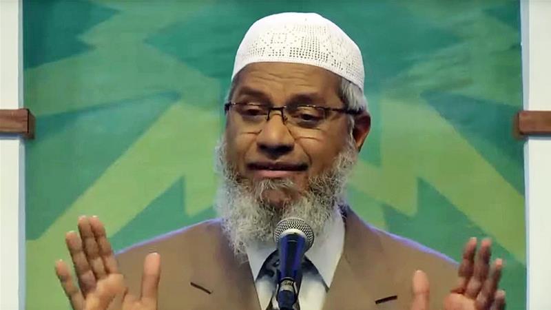 Malaysia Oo Kulan Ka Yeelatay Joogitaanka Dalkooda Ee Sheekh Zakir Naik
