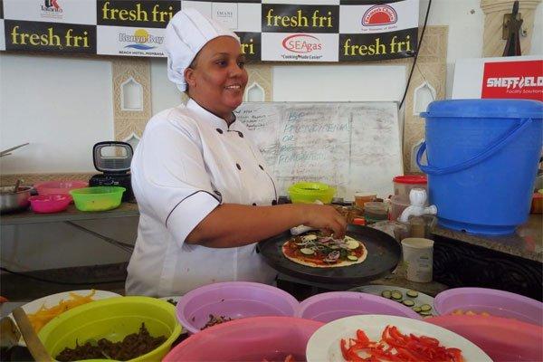 Chef. Maliha Mohammed Oo Jabisay Rikoodh U Yaalay Cunto Karinta Aduunka
