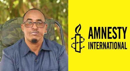 Hay'adda Amnesty Oo Soo Dhaweysay Xadhiga Wasiirkii Amniga Jubbaland