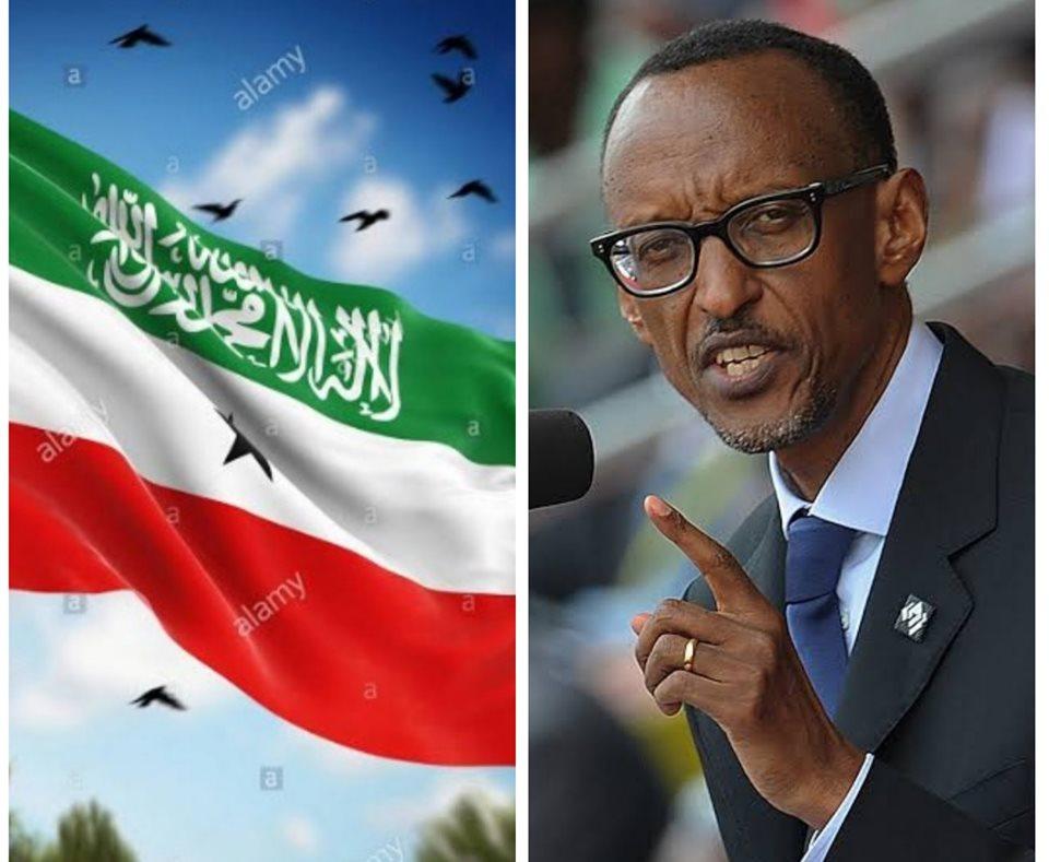 Madaxweynaha Rwanda Oo Markii Ugu Horaysay Ka Hadlay Arinta Aqoonsiga Somaliland