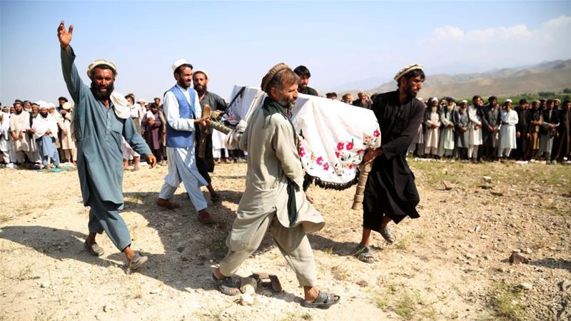 War-bixin: Maraykanku Wuxuu Sannadkii 2019, Afghanistaan Ku Dhuftay 7,423 Gantaal