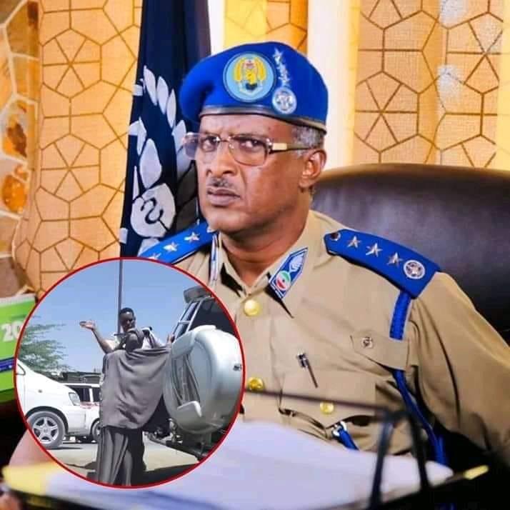 Taliyaha Booliiska Somaliland Oo Xaqiijiyey In Askari Haweenay Wadada Dhexdeeda Ku Garaacay Shaqada Laga Eryey