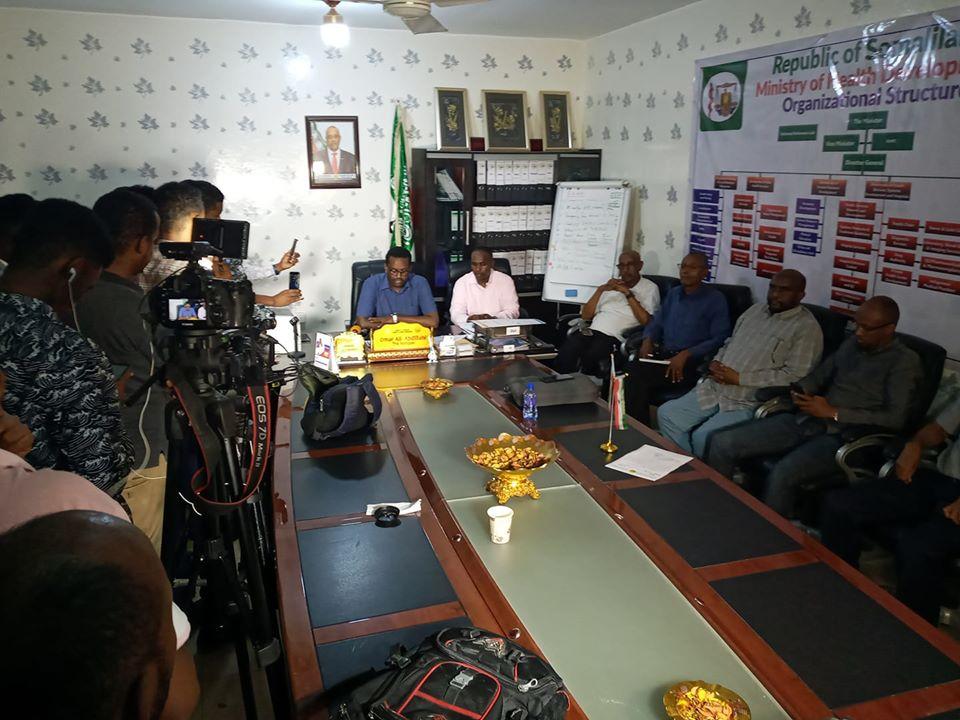 Degdeg: Somaliland Oo Shaacisay Laba Qof Oo Laga Helay Coronavirus