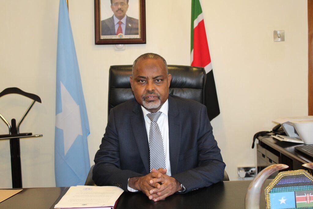 Shaqada Safaaradda Somaliya Ee Nairobi Oo La Hakiyay