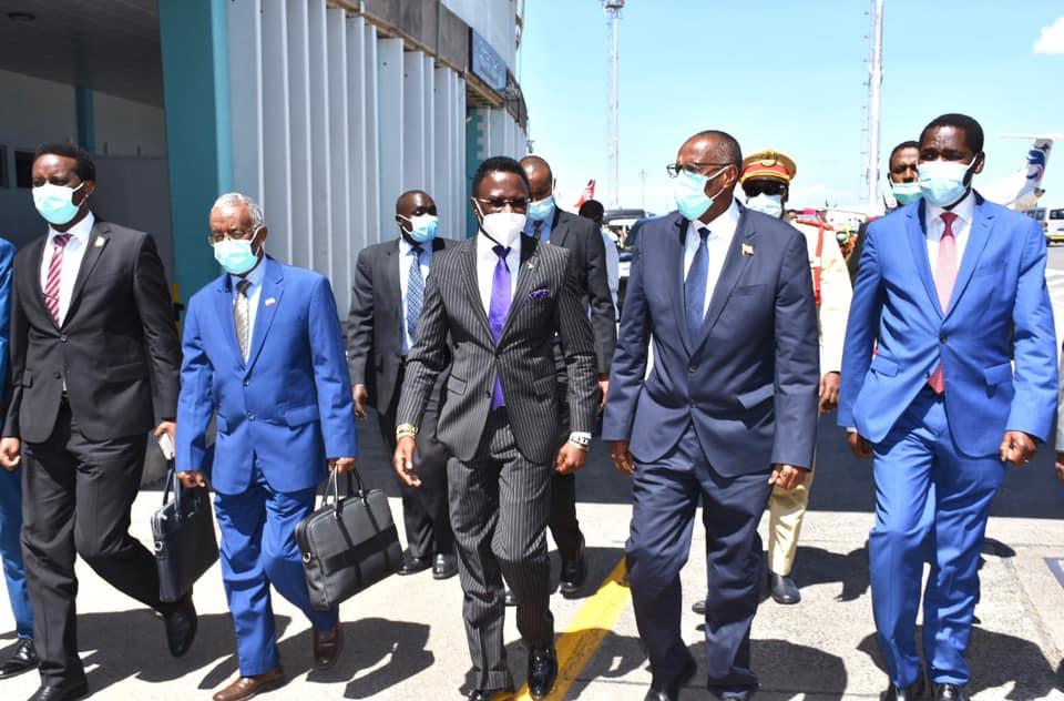 Weftiga Madaxweynaha Somaliland Oo Soodhaweyn Diiran Kala Kulmay Wasaaradda Arrimaha Dibedda Kenya