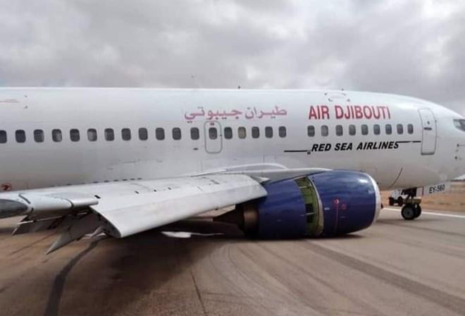 Diyaarada Air Jabuuti Oo Shil Ku Gashay Garoonka Diyaaradaha Garoowe