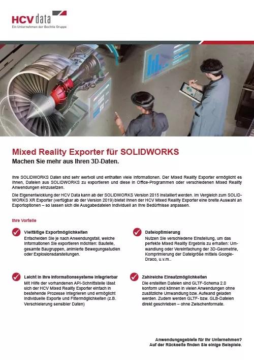 Mixed Reality Exporter