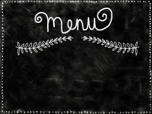 Tips for Redesigning Your Menu