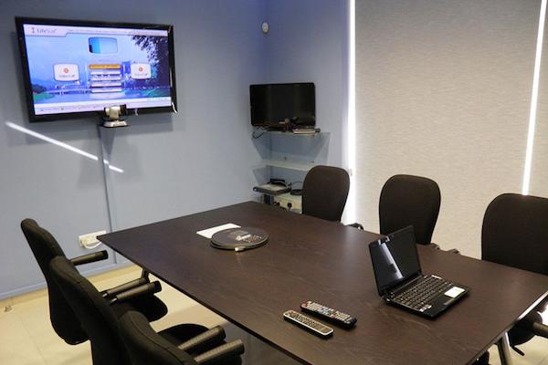 noleggiare una sala di videoconferenza